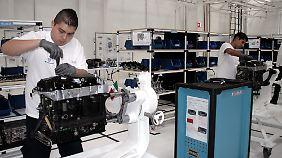 700 Arbeitsplätze hat VW mit seinem Motorenwerk geschaffen.