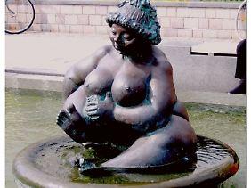 Wilhelmine von Sylt lädt zum Bade.