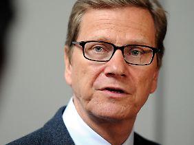 Guido Westwerwelle möchte den Handel zwischen EU und USA weiter antreiben.