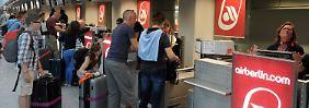 Bei Air Berlin regiert der Rotstift.