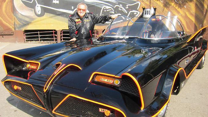 George Barris war es, der den Lincoln Futura zum Batmobil umbaute.