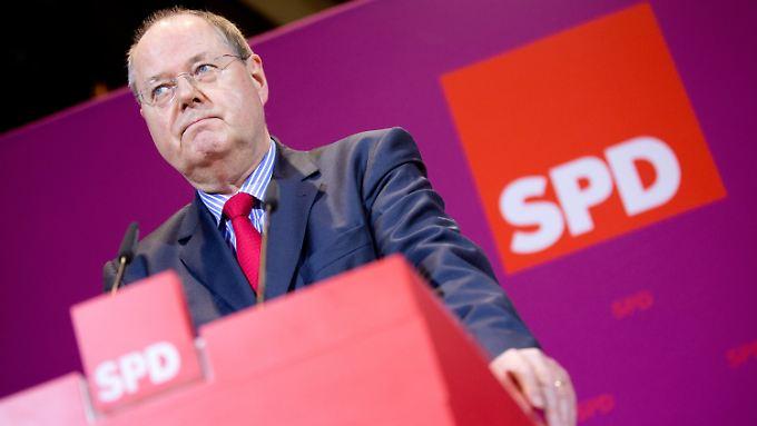 Wie ist der Wahlabend zu deuten? Steinbrück gibt die Bundestagswahl längst noch nicht verloren.