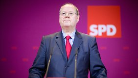"""Steinbrück setzt auf Rot-Grün: """"Machtwechsel ist möglich"""""""