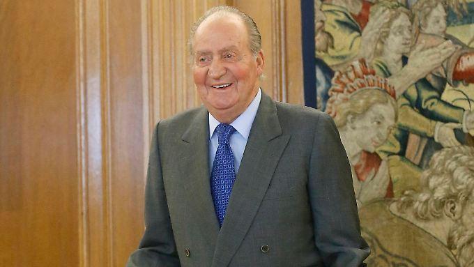 Juan Carlos ist in diesem Jahr 75 Jahre alt geworden.