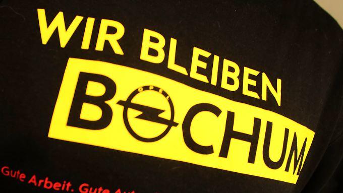 """""""Wir bleiben Bochum"""": Für Opel gilt das in ein paar Jahren nicht mehr."""