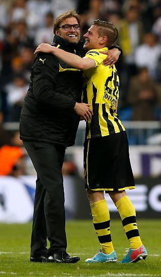 Borussia Dortmund greift nach einer Zitterpartie erstmals seit 16 Jahren nach der Krone im europäischen Vereinsfußball.