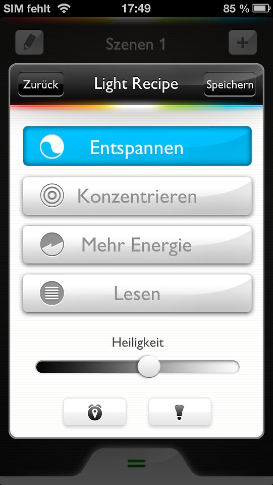 smartes licht system von philips hue bringt farbe in den geek alltag n. Black Bedroom Furniture Sets. Home Design Ideas