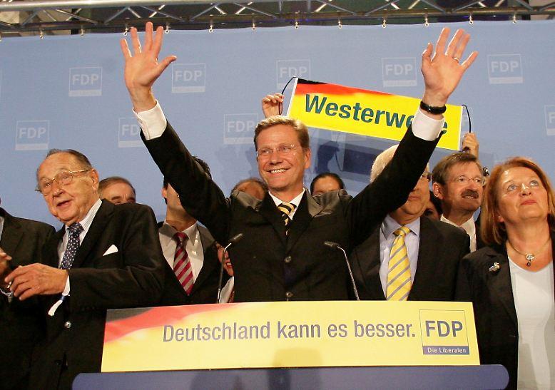 Die Bundestagwahl 2009 hat einen großen Sieger. Er heißt: Guido Westerwelle.