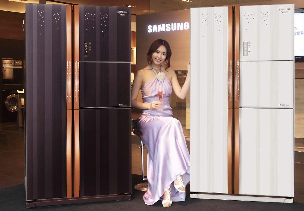 Auch haushaltsgeräte schlau samsung stellt nerd kühlschrank vor