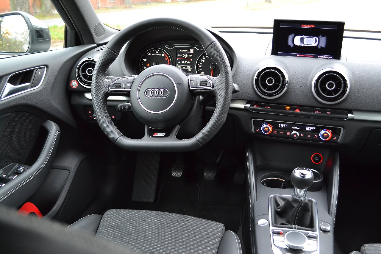 test audi a3 sportback 1 4 tfsi cod der business golf. Black Bedroom Furniture Sets. Home Design Ideas