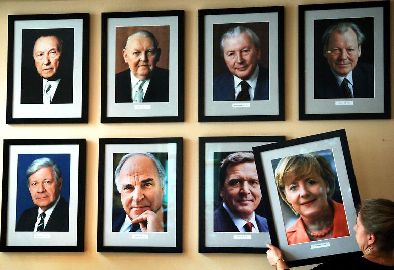 Angela Merkel ist die alte ...