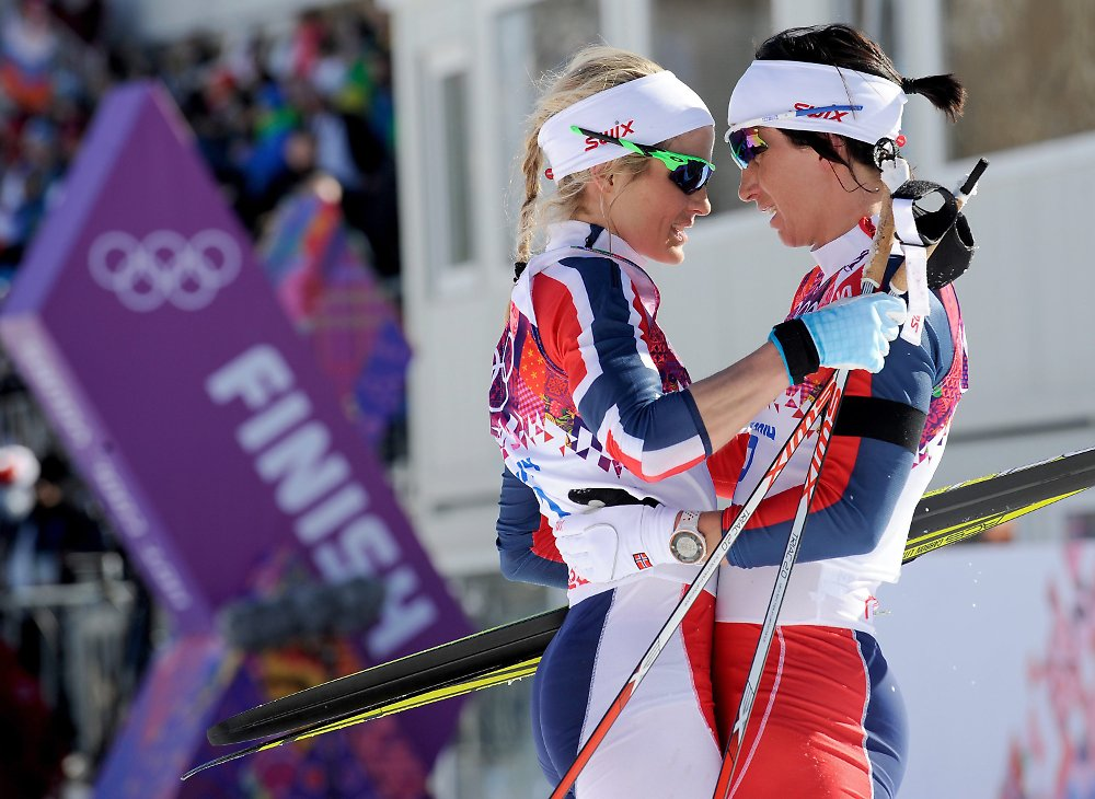 Norwegische Langläuferinnen