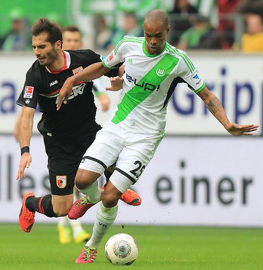 Verkehrte Welt in Wolfsburg. Nach dem 1:1 gegen den FC Augsburg waren nicht die Gastgeber die gefühlten Verlierer, ...