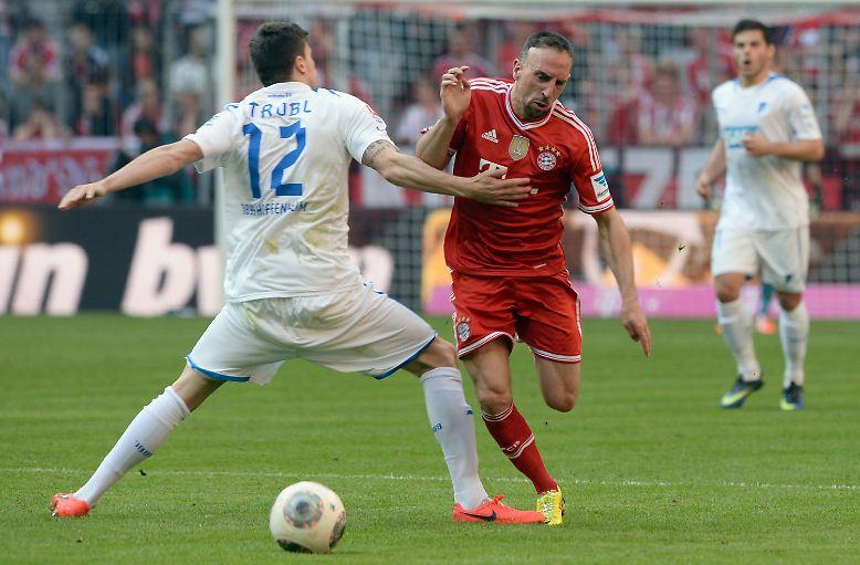 FC Bayern München - TSG Hoffenheim 3:3 (3:2)