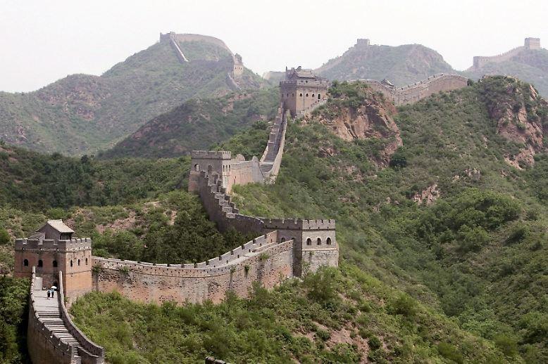 """Wenn man von der Chinesischen Mauer spricht, meint man meist die rund 6350 Kilometer lange Konstruktion aus der Ming-Dynastie (1368-1644), die sogenannte """"Große Mauer""""."""