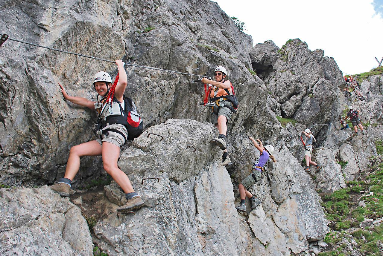 Klettersteig Interlaken : Gesicherter nervenkitzel: klettersteige immer beliebter n tv.de
