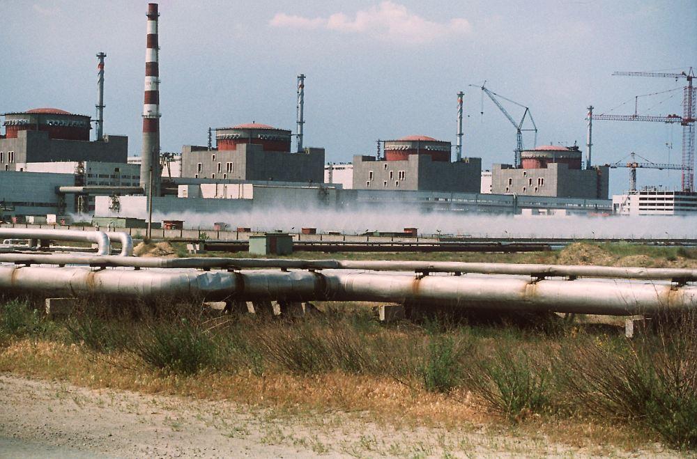 Sapporoschje, das von Störfällen geplagte Werk in der Ukraine. (ntv)
