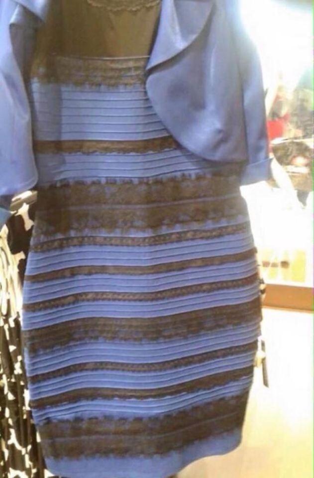 Weißgold kleid  Weiß-gold oder blau-schwarz?: Dieses Kleid macht die Welt ...