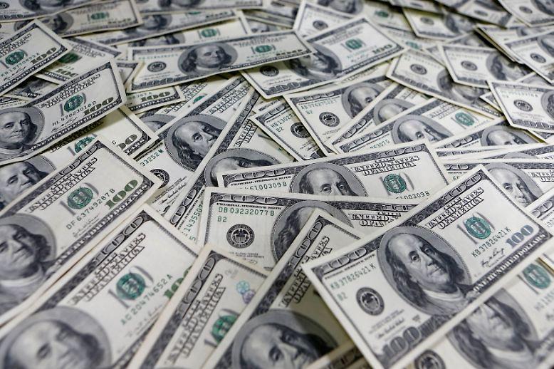 Wer träumt nicht von Geld im Überfluss, ...