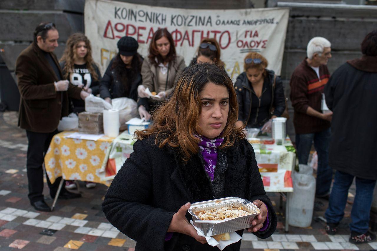 Essensmarken, Wohngeld, Strom: Athen hilft Armen mit 200 Millionen ...