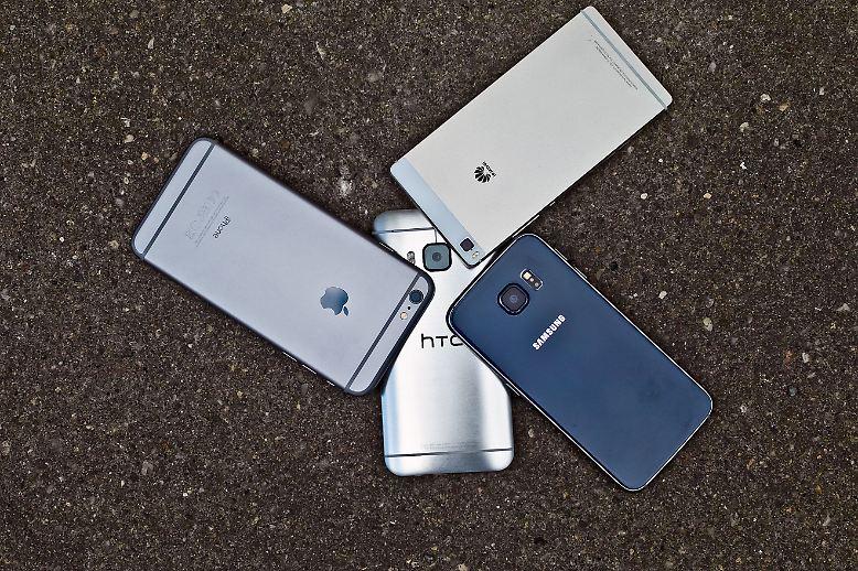 iphone 6 plus s6 one m9 und p8 die besten smartphones. Black Bedroom Furniture Sets. Home Design Ideas