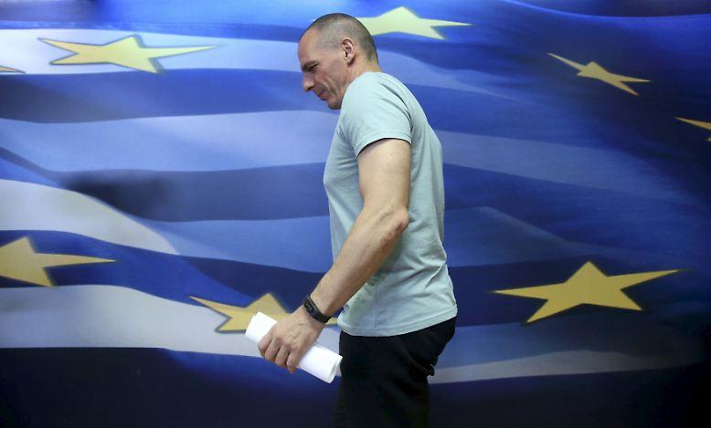 Das war's also: Yanis Varoufakis, der griechische Finanzminister, wirft hin.