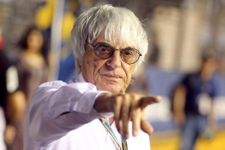 Ein Macher ist, beziehungsweise war er ja, dieser Bernie Ecclestone, ...