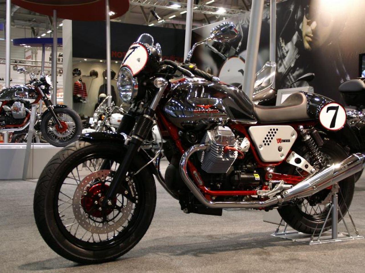 Moto Guzzi V7 Racer: Comeback der Siebziger - n-tv.de