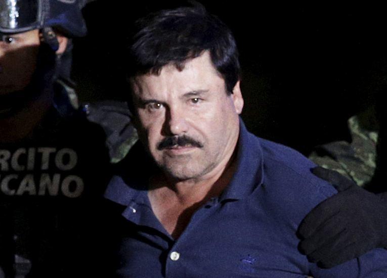 """Sechs Monate nach seiner spektakulären Flucht sitzt Joaquín """"El Chapo"""" Guzmán wieder in Haft."""