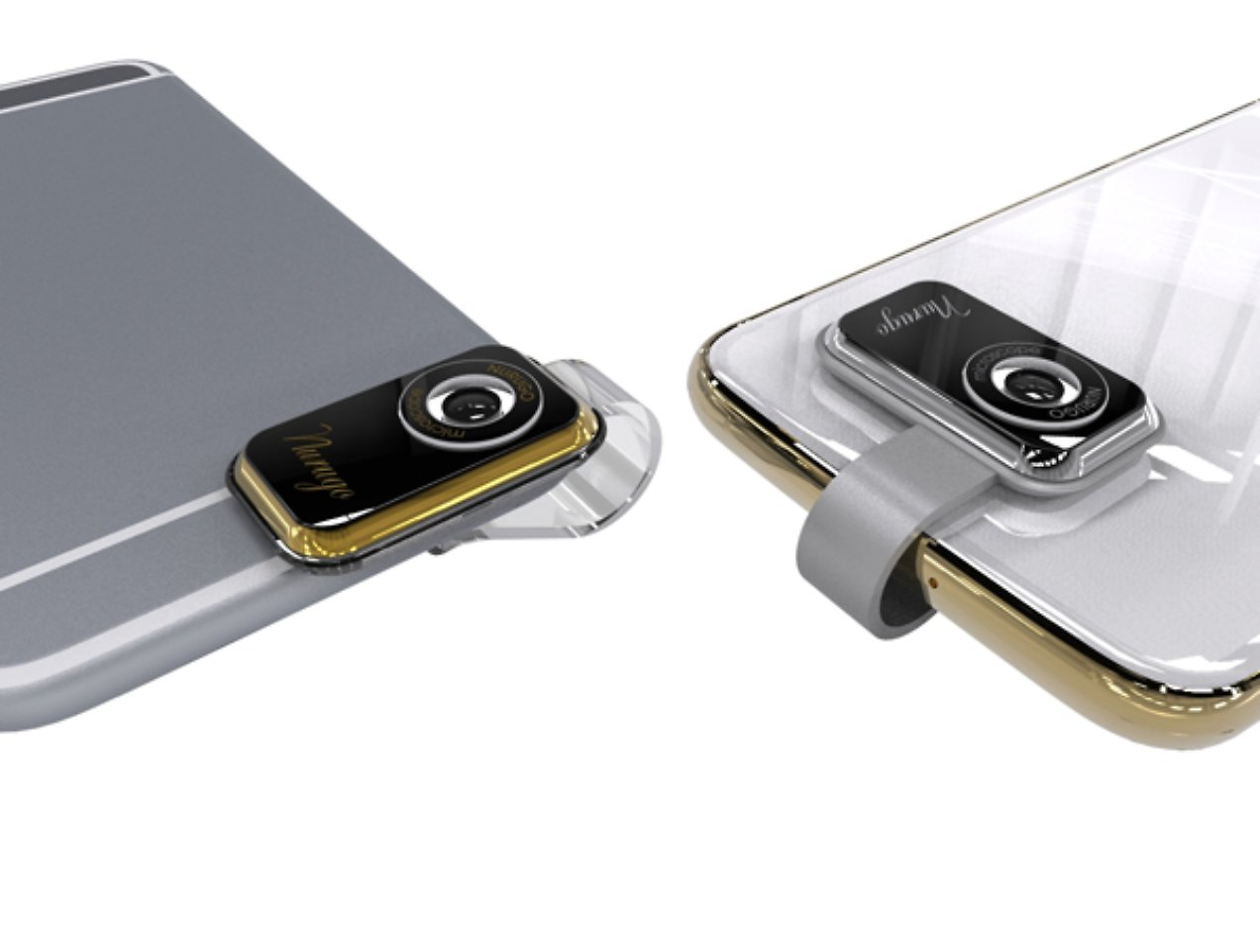 Winzig günstig federleicht: nurugo micro macht iphone zum