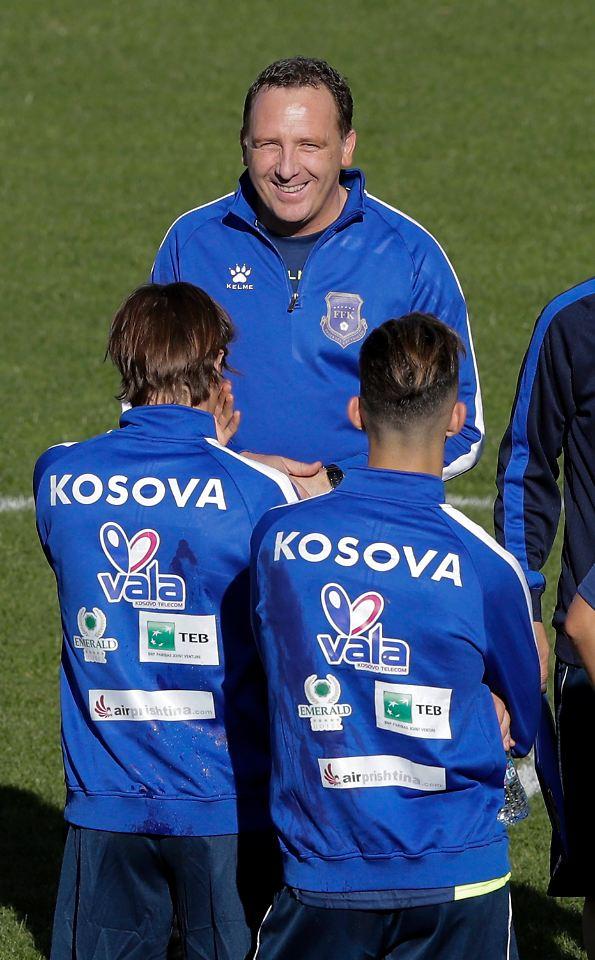 kosovarische nationalmannschaft
