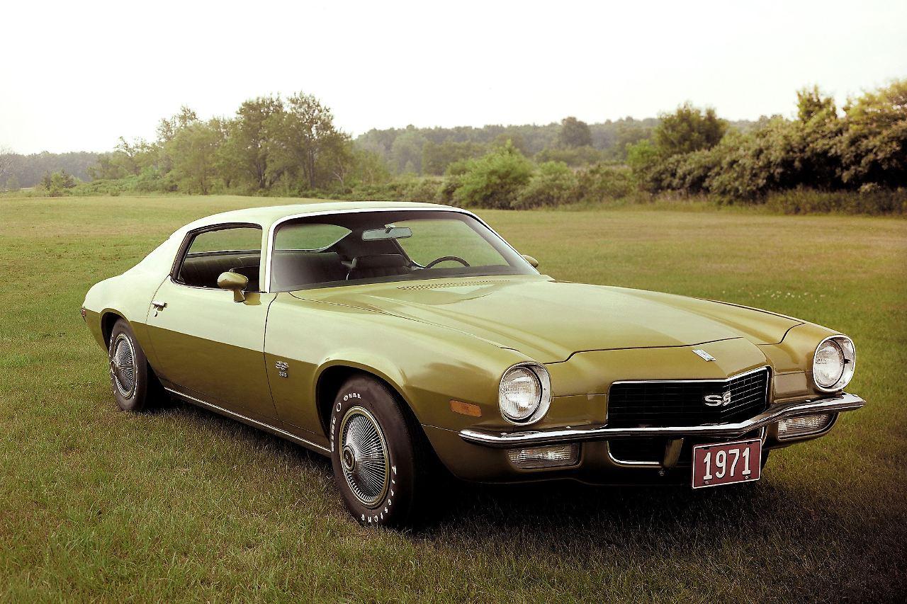 50 Jahre Chevrolet Camaro Ein Bses Tier Das Mustangs Frisst N 1966 Chevy Ss Zweite Generation 396 Modelljahr 1971