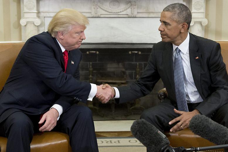Die Präsidentschaft Barack Obamas geht zu Ende. Der erste Afroamerikaner im Amt übergibt demnächst die Schlüssel fürs Weiße Haus an den Republikaner Donald Trump. Doch zuvor ...
