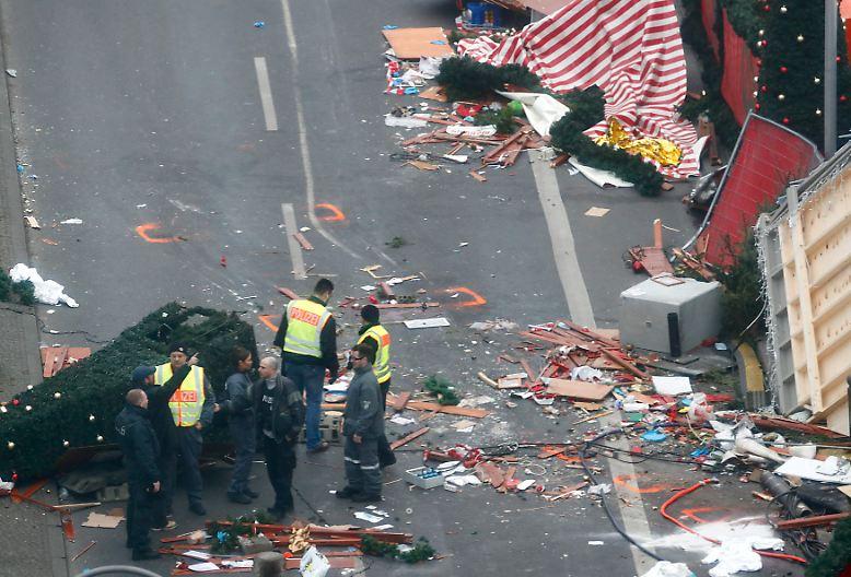 Einen Tag nach dem schrecklichen Ereignis auf dem Berliner Weihnachtsmarkt am Breitscheidplatz steht fest: ...