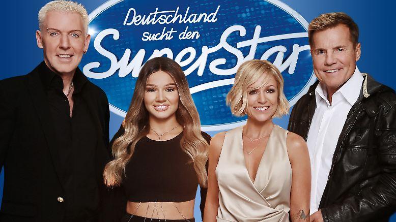 """Dürfen wir vorstellen: die neue Jury von """"Deutschland sucht den Superstar"""" (DSDS). Nun ja, ..."""