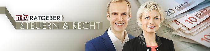 Sendung: Ratgeber - Steuern & Recht