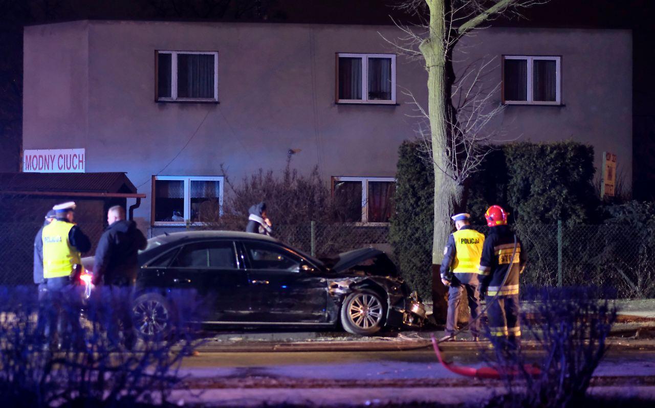 zusammenprall mit anderem auto polnische regierungschefin erleidet unfall n. Black Bedroom Furniture Sets. Home Design Ideas