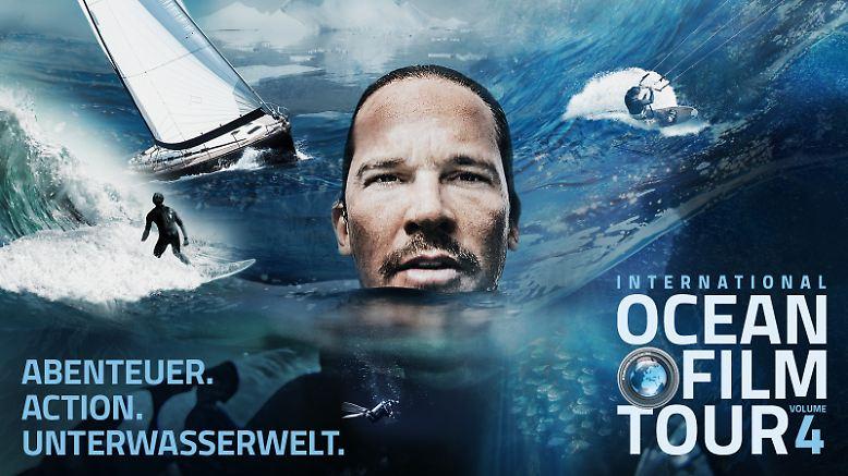 """Die vierte Auflage der """"International Ocean Film Tour"""" ist gestartet und präsentiert sieben Filme rund ums Thema Meer."""