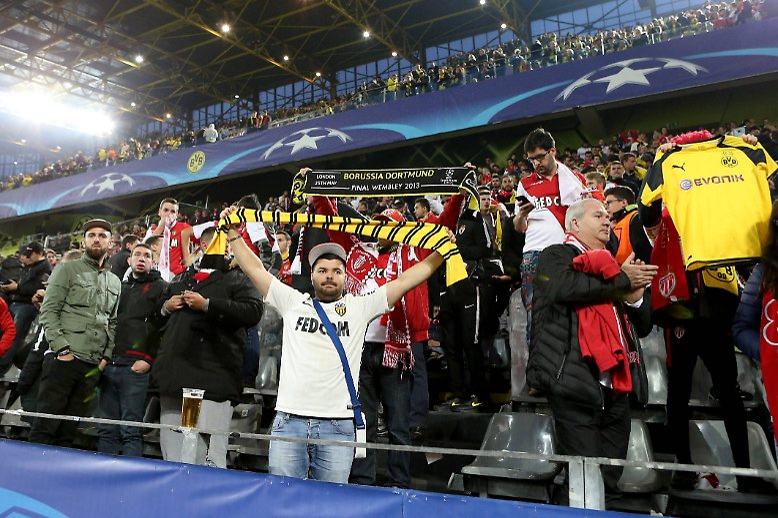 Es sollte ein Fußballfest werden zwischen Borussia Dortmund und dem AS Monaco.