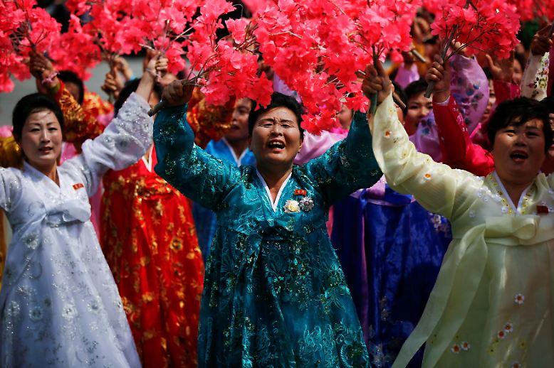 In Diktaturen wie Nordkorea gibt es immer etwas zu feiern.