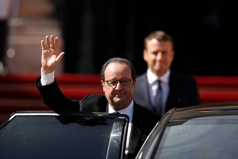 ... François Hollande geht.