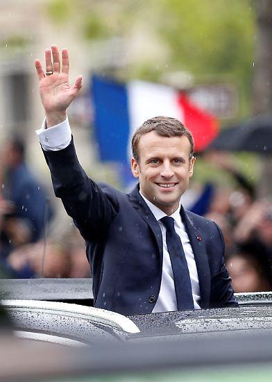 Bienvenue Monsieur le Président - Willkommen, Emmanuel Macron. (jgu)