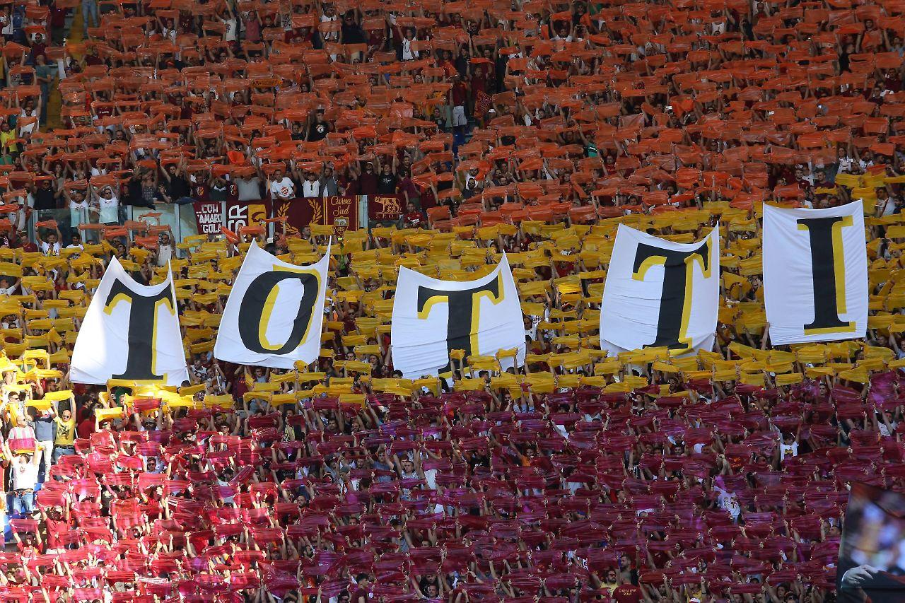 AS Rom: Tränen und Last-Minute-Tor bei Francesco Tottis letztem Spiel