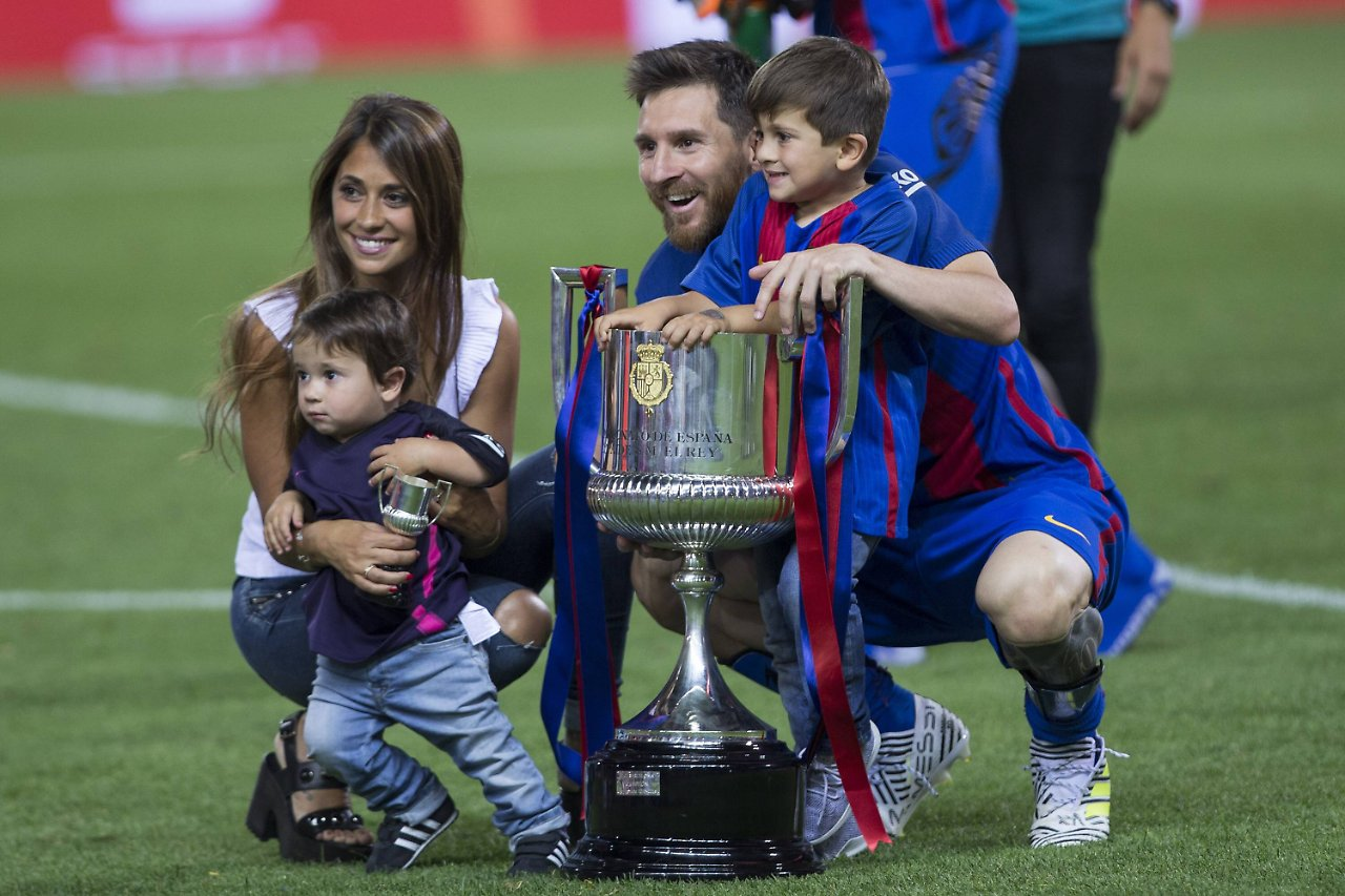 Lionel Messi heiratet Freundin Antonella