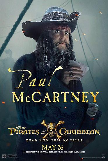 """Als verwegener Seeräuber-Onkel mit verfilzten Dreadlocks taucht er im neuen Kinofilm """"Pirates of the Caribbean: Salazars Rache"""" auf. Keine typische Rolle für den ..."""