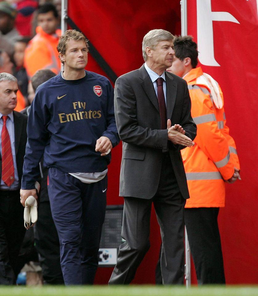 Lehmann sieht sich bei Arsenal nicht als Wenger-Kronprinz