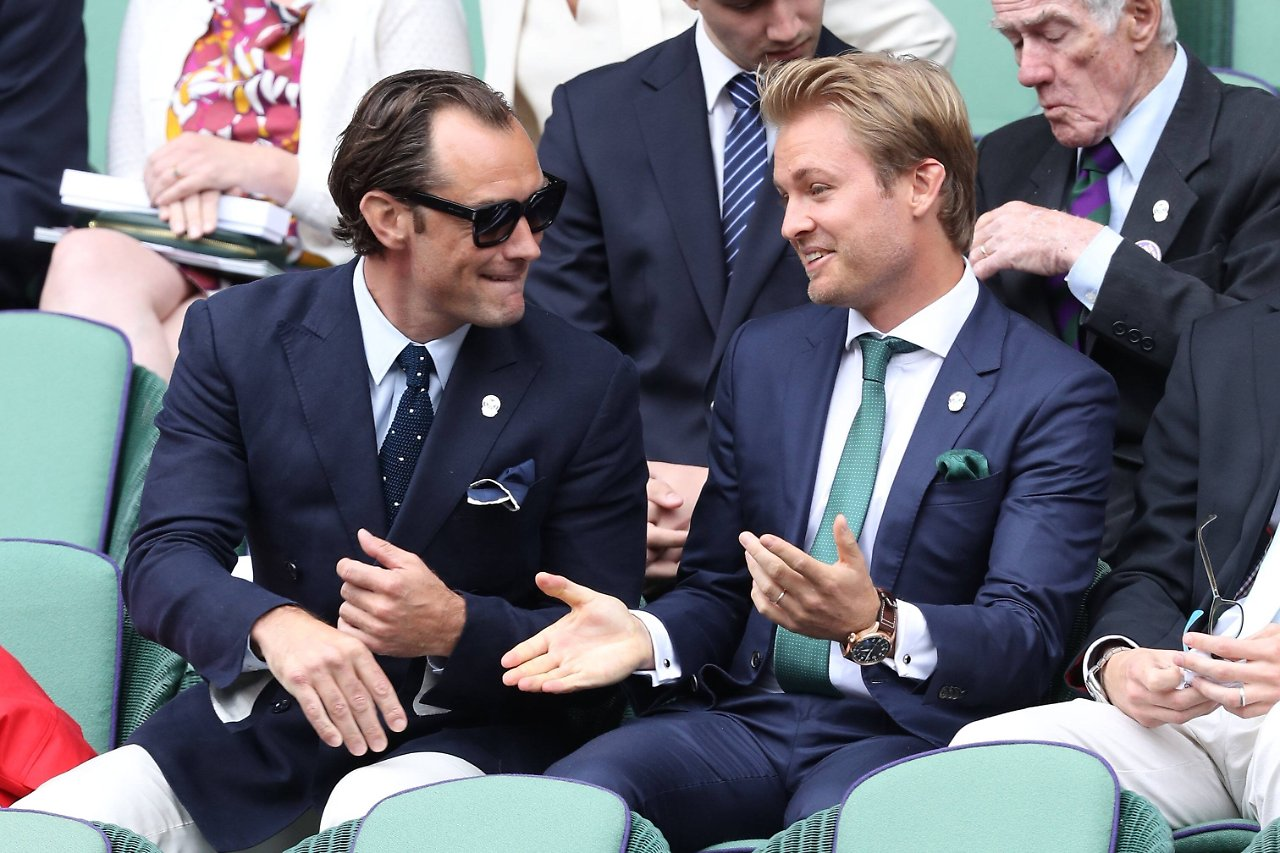 Weltmeister Nico Rosberg Gast in der Royal Box