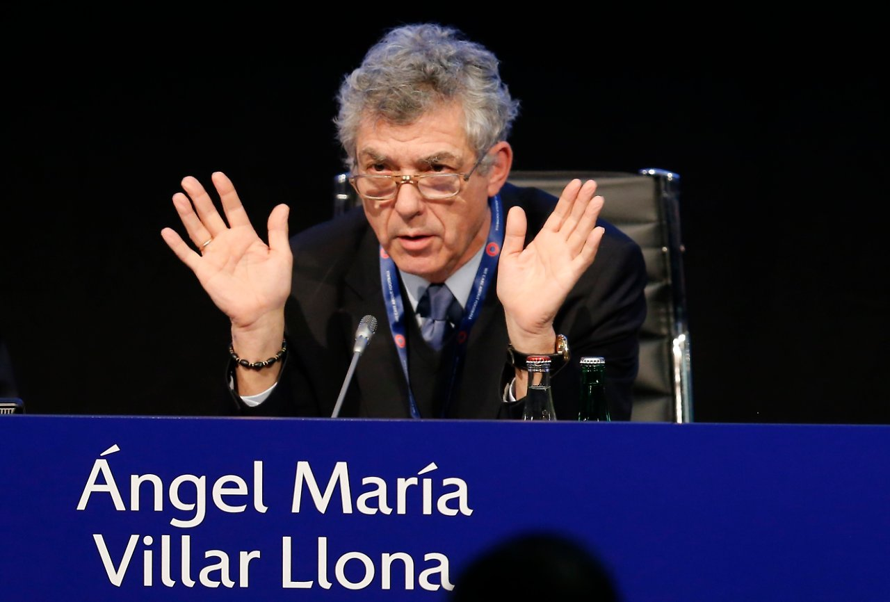Villar Llona tritt als Uefa-Vizepräsident zurück