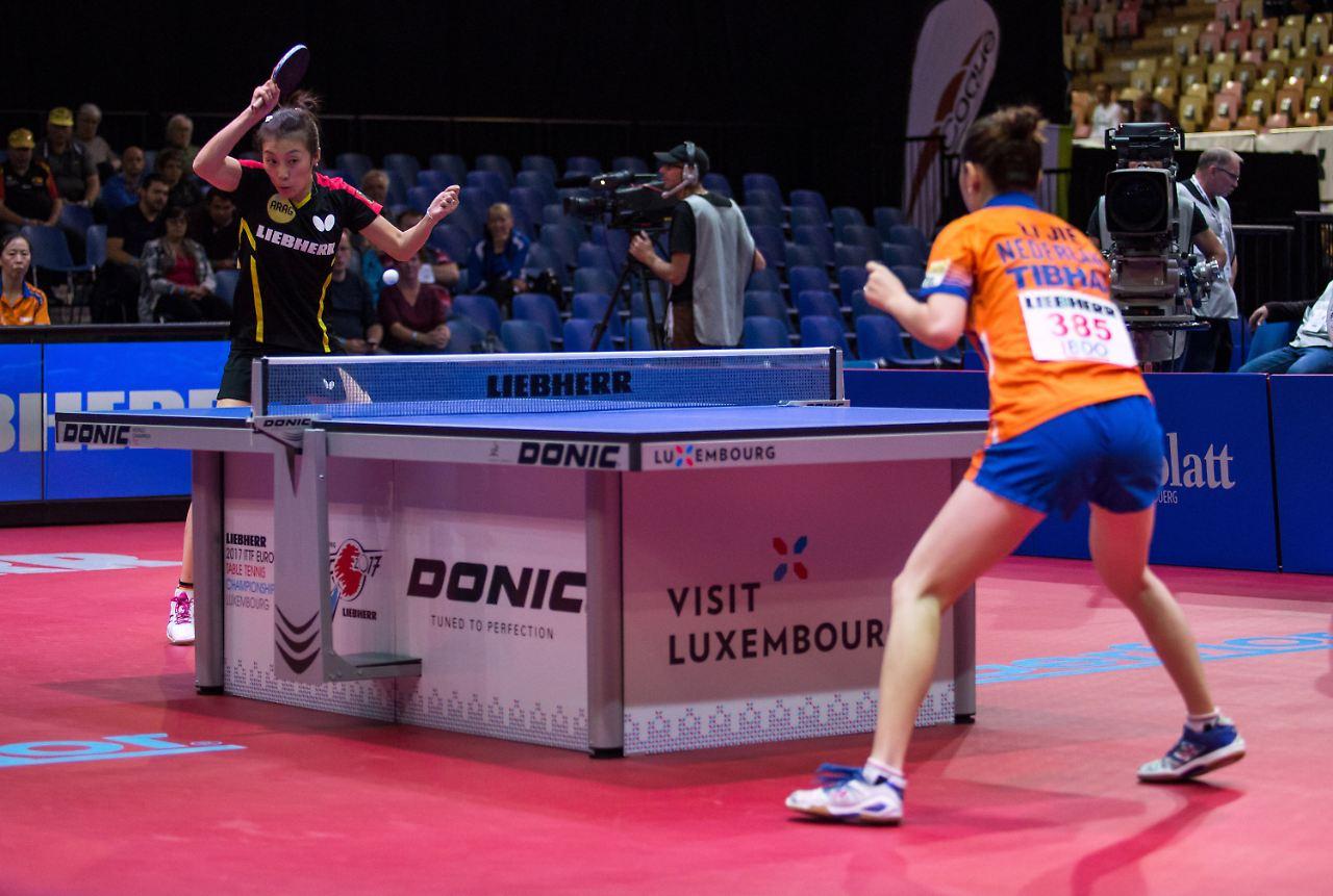 Tischtennis-Herren stehen souverän im EM-Viertelfinale