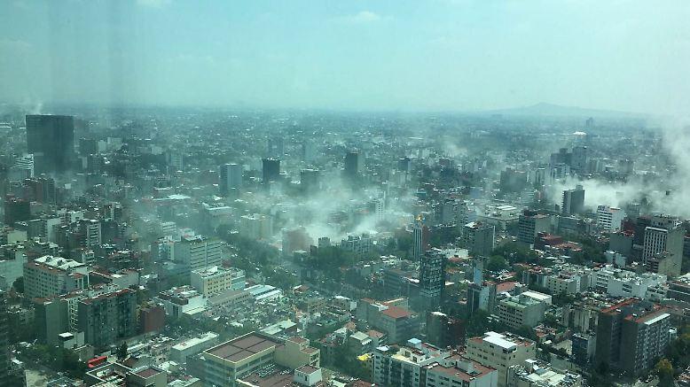 Zum zweiten Mal innerhalb weniger Tage wird Mexiko von einem schweren Erdbeben erschüttert.